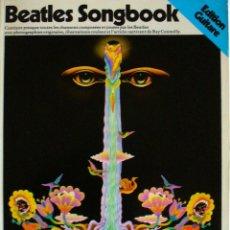 Catálogos de Música: BEATLES SONGBOOK EDICION GUITARRA. Lote 140629346