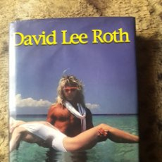 Catálogos de Música: DAVID LEE ROTH - LIBRO CRAZY FROM THE HEAT 1997 (AUTOBIOGRAFIA) TAPA DURA (VAN HALEN). Lote 140841242
