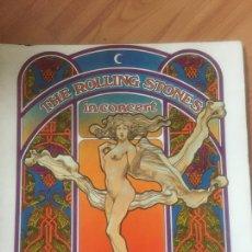 Catálogos de Música: THE ROLLING STONES IN CONCERT 1969 USA. ORIGINAL PROGRAMA TOUR 69. Lote 103920535