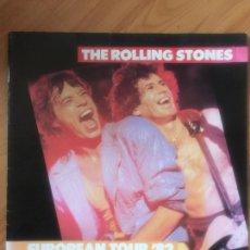 Catálogos de Música: THE ROLLING STONES EUROPEAN TOUR 82. PROGRAMA ORIGINAL. Lote 103920463