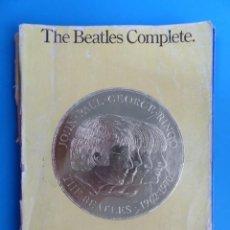 Catálogos de Música: LIBRO THE BEATLES COMPLETE - PIANO/VOCAL EDITION - AÑO 1983, WISE PUBLICATIONS- TODAS LAS PARTITURAS. Lote 141183574