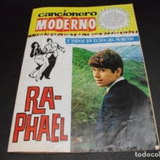Catálogos de Música: CANCIONERO MODERNO DE RAPHAEL THE BEATLES MUSICA. Lote 141185722