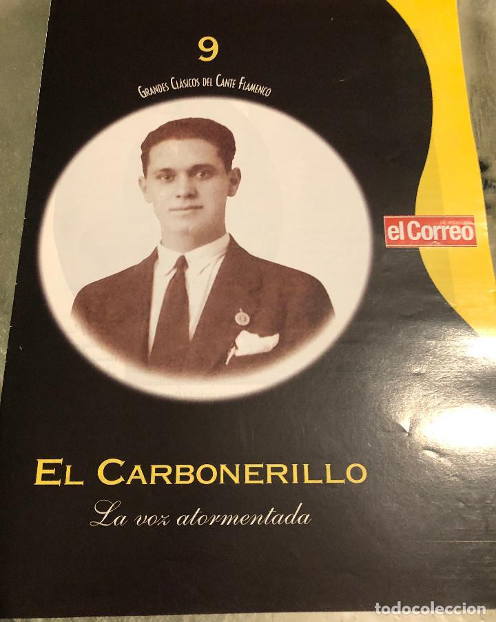 'GRANDES CLÁSICOS DEL CANTE FLAMENCO'. FASCÍCULO Nº 9. EL CARBONERILLO. NUEVO. (Música - Catálogos de Música, Libros y Cancioneros)