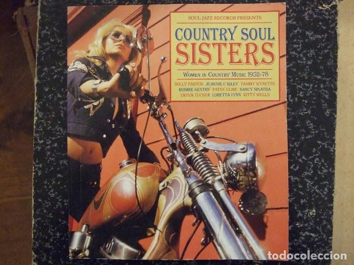 Catálogos de Música: COUNTRY SOUL SISTERS - WOMEN IN COUNTRY MUSIC 52-78 - SOUL JAZZ RECORDS 2012 INGLES - Foto 1 - 141647402