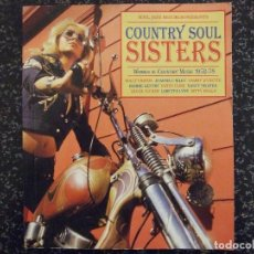 Catálogos de Música: COUNTRY SOUL SISTERS - WOMEN IN COUNTRY MUSIC 52-78 - SOUL JAZZ RECORDS 2012 INGLES. Lote 141647402