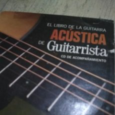 Catálogos de Música: CD DE GUITARRA ACÚSTICA ACOMPAÑAMIENTO. Lote 142319886