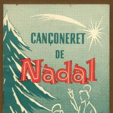 Catálogos de Música: CANÇONERET DE NADAL - EDITORIAL BALMES. Lote 142729202