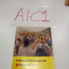 Cataloghi di Musica: CANCIONERO POPULAR CAJA DE AHORRO MUNICIPAL DE VITORIA GASTEIZ OCTAVA EDICIÓN 1981 VER FOTOS ESTADO. Lote 142765420
