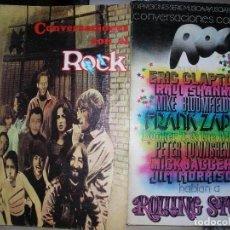 Catálogos de Música: CONVERSACIONES CON EL ROCK DOS TOMOS COMPLETO. Lote 143199038