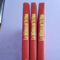 Catálogos de Música: JOYA . OBRA EN 3 TOMOS. LA MUSICA DE TU VIDA , -EDITA : PLANETA AGUSTINI AÑO 1992.. Lote 143896298