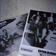 Catálogos de Música: DINAMITA PA LOS POLLOS 2 POSTALES ROCKABILLY. Lote 143910174
