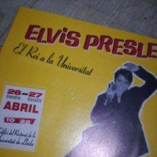 Catálogos de Música: FLYER ELVIS ROCKABILLY. Lote 143913730