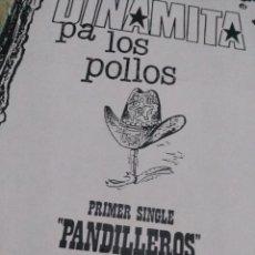 Catálogos de Música: FLYER DINAMITA PA LOS POLLOS. Lote 143920838