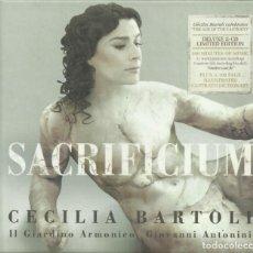 Catálogos de Música: LOS CASTRATI, SACRIFICIUM, CECILIA BARTOLI, LIBRO, 2 CD Y LIBRETO. Lote 143925506