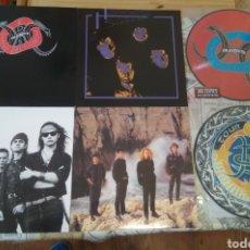 Catálogos de Música: HÉROES DEL SILENCIO LOTE VINILOS , PICTURE , EN DIRECTO , TOUR 1991 ..... Lote 143928625