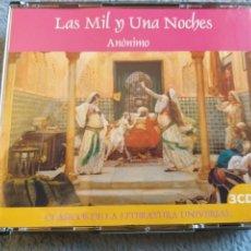 Catálogos de Música - Las Mil y Una Noches 3 Cd Anónimo Clasicos de la Literatura Universal + 5 € de Envio N.C. - 144718530