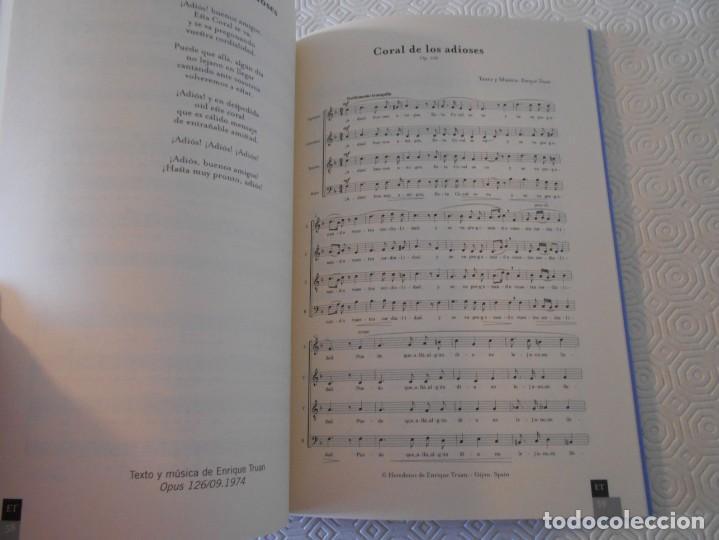 Catálogos de Música: ENRIQUE TRUAN. DIECINUEVE CANCIONES PARA CORO MIXTO A CUATRO VOCES. AYUNTAMIENTO DE GIJON, 2003. RUS - Foto 2 - 146561734