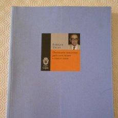 Catálogos de Música: ENRIQUE TRUAN. DIECINUEVE CANCIONES PARA CORO MIXTO A CUATRO VOCES. AYUNTAMIENTO DE GIJON, 2003. RUS. Lote 146561734