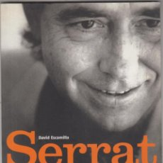 Catálogos de Música: LIBRO SERRAT MATERIAL SENSIBLE DAVID ESCAMILLA 2005. Lote 146770662