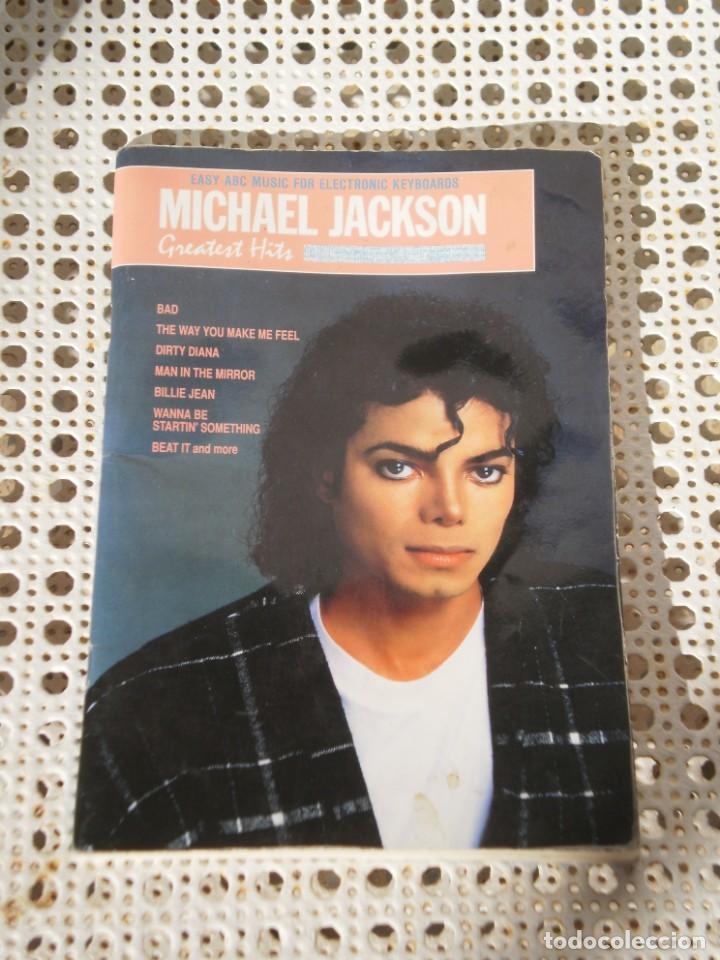 LIBRETO DE PARTITURAS GREATEST HITS , MICHAEL JACKSON . *WARNER BROS MUSIC* IMPRESO EN USA (Música - Catálogos de Música, Libros y Cancioneros)