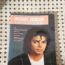 Catálogos de Música: LIBRETO DE PARTITURAS GREATEST HITS , MICHAEL JACKSON . *WARNER BROS MUSIC* IMPRESO EN USA. Lote 147408970