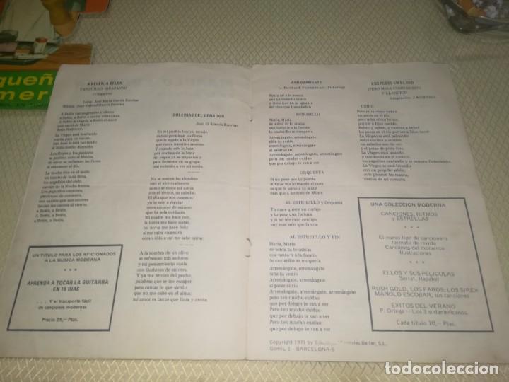 Catálogos de Música: Cancionero manolo escobar en la película me debes un muerto ED. Alas 10 ptas 1971 m. Fotos - Foto 4 - 147753150