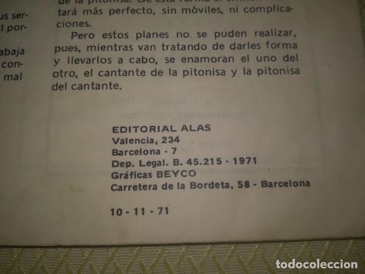 Catálogos de Música: Cancionero manolo escobar en la película me debes un muerto ED. Alas 10 ptas 1971 m. Fotos - Foto 6 - 147753150