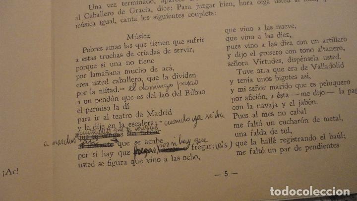 Catálogos de Música: LA GRAN VIA.FELIPE PEREZ GONZALEZ.CHUECA Y VALVERDE.REVISTA MADRILEÑA COMICO-LIRICA-CALLEJERA - Foto 3 - 147778094