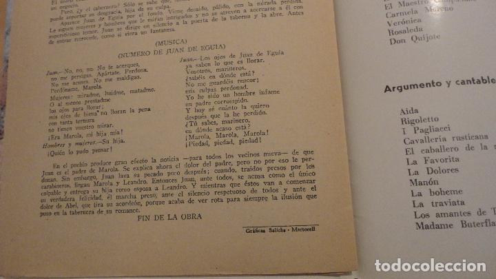 Catálogos de Música: LA TABERNERA DE PUERTO.ROMANCE MARINERO.FEDERICO ROMERO.FERNANDEZ SHAW.PABLO SOLOZABAL - Foto 3 - 147778462