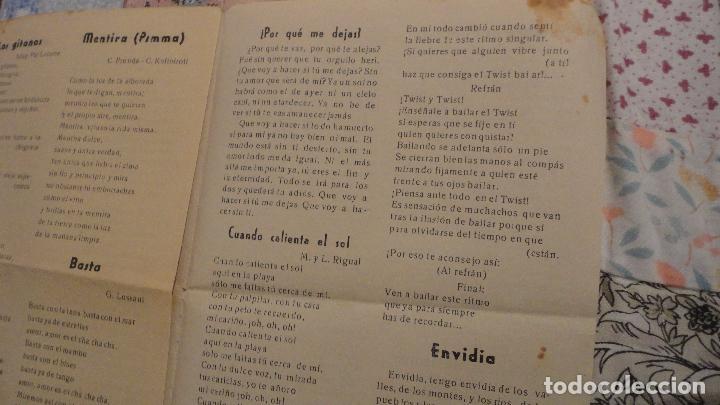 Catálogos de Música: MELODIAS ROCKS Y TWIST.DUO DINAMICO.JOSE GUARDIOLA. - Foto 4 - 147779282