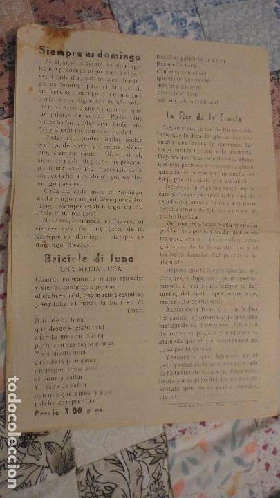 Catálogos de Música: MELODIAS ROCKS Y TWIST.DUO DINAMICO.JOSE GUARDIOLA. - Foto 5 - 147779282