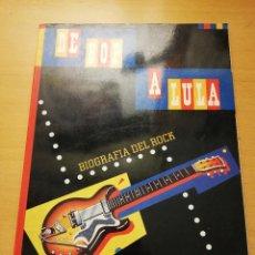 Catálogos de Música: DE BOP A LULA. BIOGRAFIA DEL ROCK (CAIXA DE PENSIONS). Lote 148247358