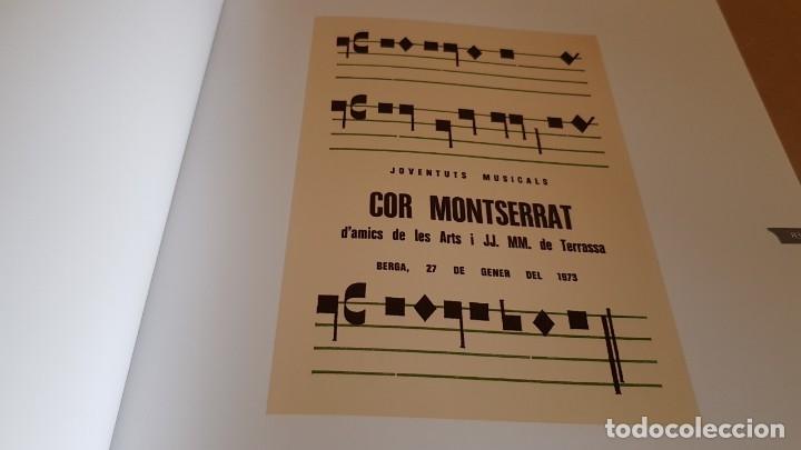 Catálogos de Música: COR MONTSERRAT / 1966-2006. 40 ANIVERSARI / LIBRO HISTÓRICO-MUSICAL. TERRASSA. - Foto 5 - 148780478