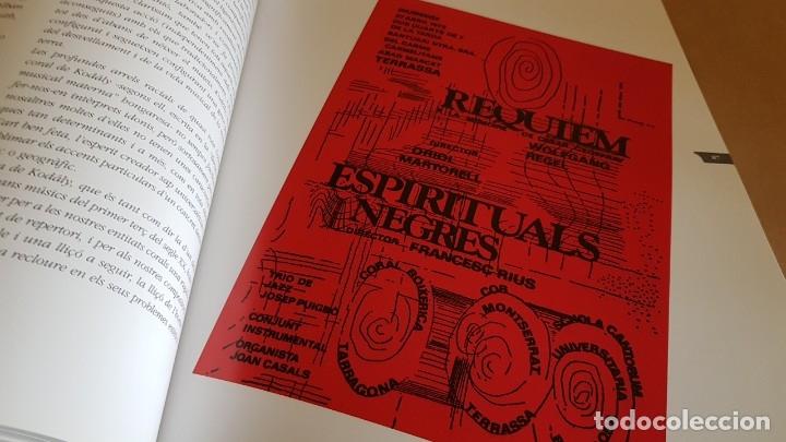 Catálogos de Música: COR MONTSERRAT / 1966-2006. 40 ANIVERSARI / LIBRO HISTÓRICO-MUSICAL. TERRASSA. - Foto 6 - 148780478
