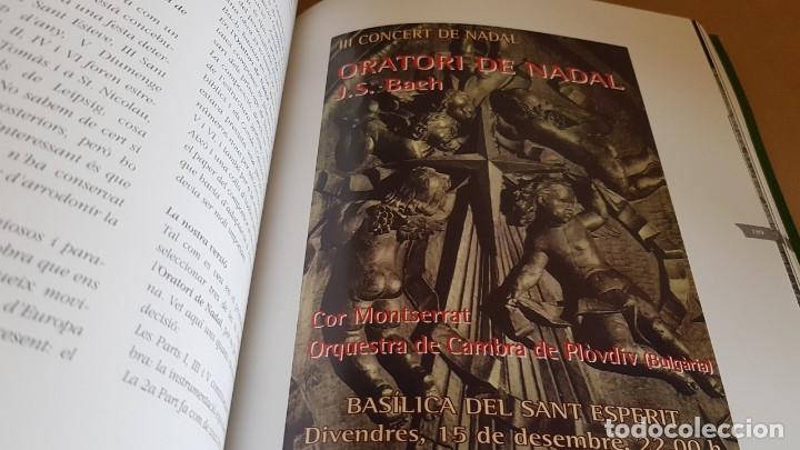 Catálogos de Música: COR MONTSERRAT / 1966-2006. 40 ANIVERSARI / LIBRO HISTÓRICO-MUSICAL. TERRASSA. - Foto 8 - 148780478