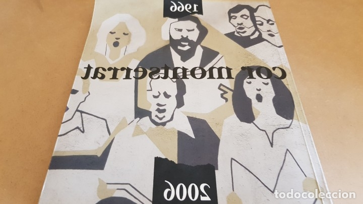 Catálogos de Música: COR MONTSERRAT / 1966-2006. 40 ANIVERSARI / LIBRO HISTÓRICO-MUSICAL. TERRASSA. - Foto 12 - 148780478