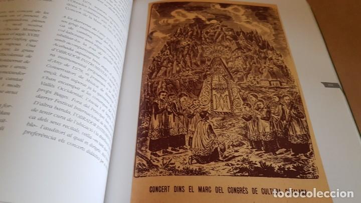Catálogos de Música: COR MONTSERRAT / 1966-2006. 40 ANIVERSARI / LIBRO HISTÓRICO-MUSICAL. TERRASSA. - Foto 11 - 148780478