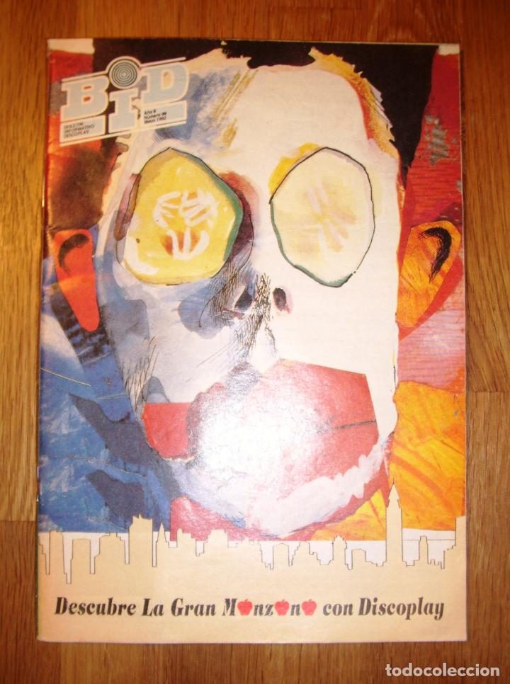 BID : BOLETÍN INFORMATIVO DISCOPLAY. AÑO 8 ; Nº 99 ; MAYO 1992 (Música - Catálogos de Música, Libros y Cancioneros)