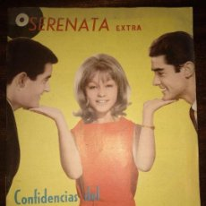Catálogos de Música: ANTIGUA REVISTA SERENATA EXTRA MARISOL Y DUO DINAMICO ORIGINAL AÑOS 60 N. 38. Lote 150064618