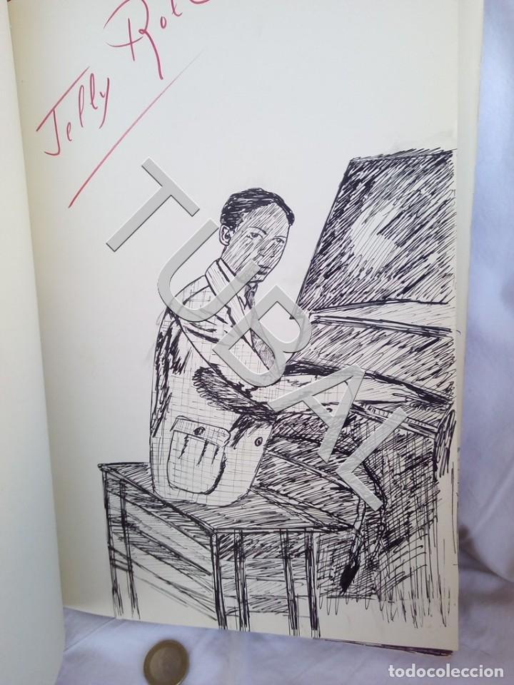 TUBAL 1974 JAZZ MANUSCRITO BOB POR JORGE DE GISPERT 110 FOLIOS DIBUJOS MONTADOS ILUMINADOS A MANO G5 (Música - Catálogos de Música, Libros y Cancioneros)
