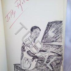 Catálogos de Música: TUBAL 1974 JAZZ MANUSCRITO BOB POR JORGE DE GISPERT 110 FOLIOS DIBUJOS MONTADOS COLOREADOS A MANO. Lote 150984542
