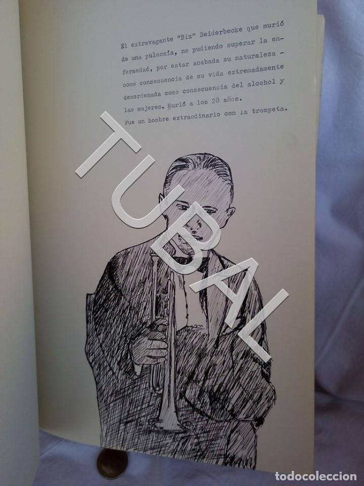 Catálogos de Música: TUBAL 1974 JAZZ MANUSCRITO BOB POR JORGE DE GISPERT 110 FOLIOS DIBUJOS MONTADOS ILUMINADOS A MANO G5 - Foto 2 - 150984542