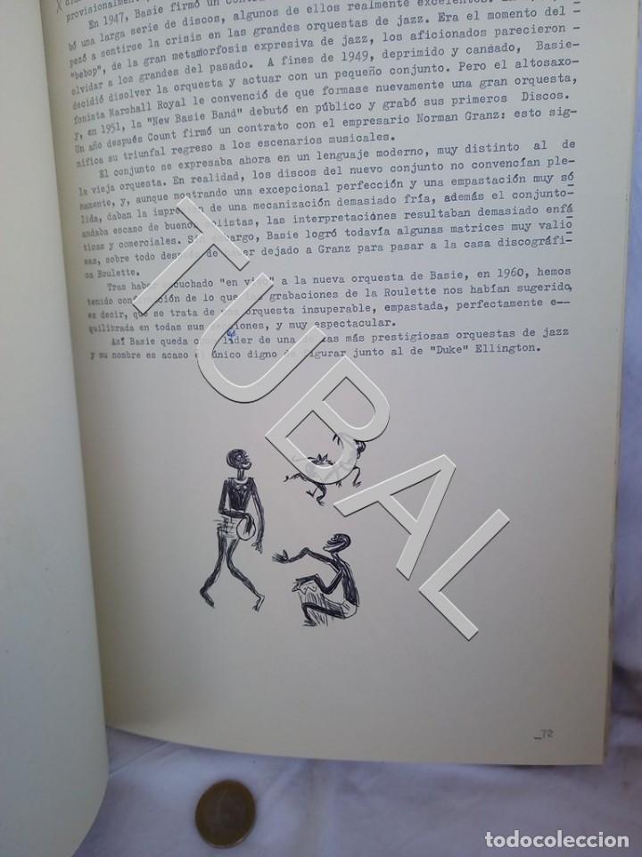 Catálogos de Música: TUBAL 1974 JAZZ MANUSCRITO BOB POR JORGE DE GISPERT 110 FOLIOS DIBUJOS MONTADOS ILUMINADOS A MANO G5 - Foto 4 - 150984542