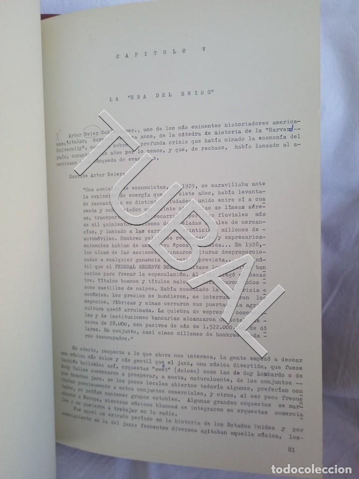 Catálogos de Música: TUBAL 1974 JAZZ MANUSCRITO BOB POR JORGE DE GISPERT 110 FOLIOS DIBUJOS MONTADOS ILUMINADOS A MANO G5 - Foto 6 - 150984542