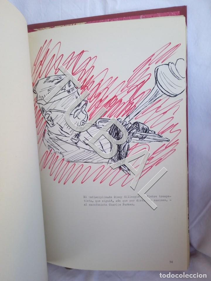 Catálogos de Música: TUBAL 1974 JAZZ MANUSCRITO BOB POR JORGE DE GISPERT 110 FOLIOS DIBUJOS MONTADOS ILUMINADOS A MANO G5 - Foto 9 - 150984542