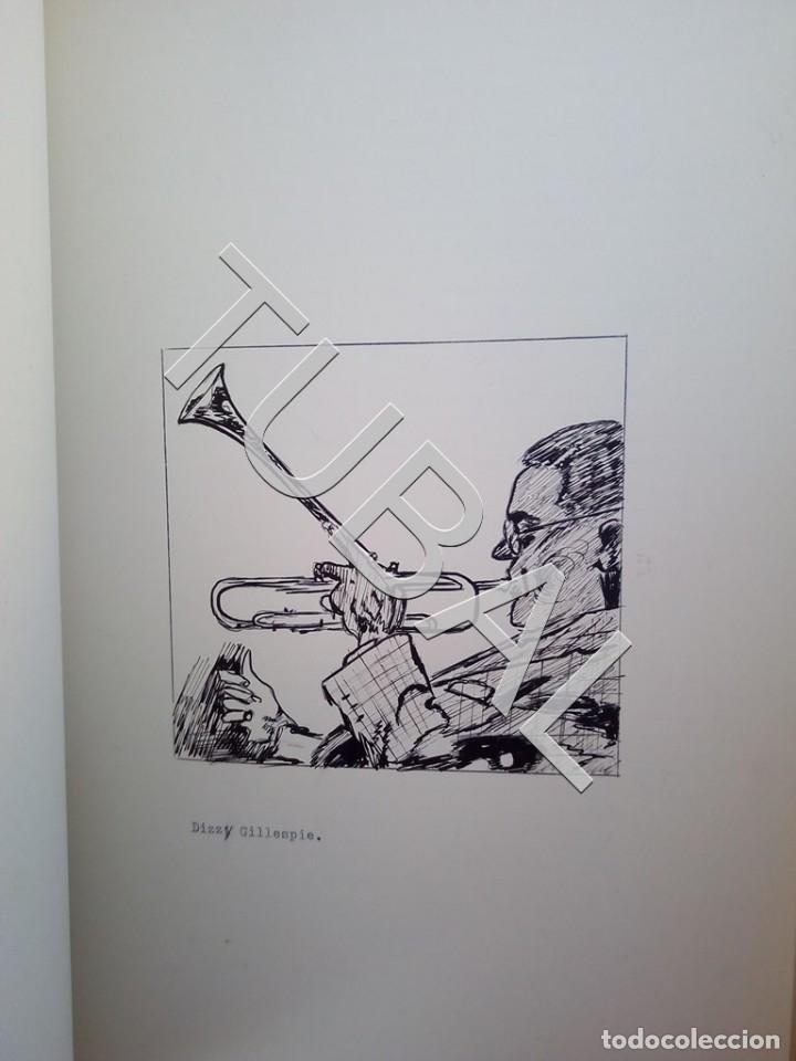 Catálogos de Música: TUBAL 1974 JAZZ MANUSCRITO BOB POR JORGE DE GISPERT 110 FOLIOS DIBUJOS MONTADOS ILUMINADOS A MANO G5 - Foto 10 - 150984542