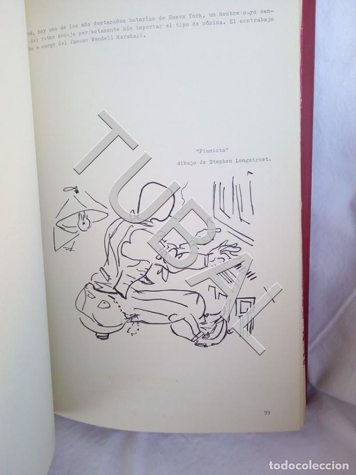 Catálogos de Música: TUBAL 1974 JAZZ MANUSCRITO BOB POR JORGE DE GISPERT 110 FOLIOS DIBUJOS MONTADOS ILUMINADOS A MANO G5 - Foto 11 - 150984542