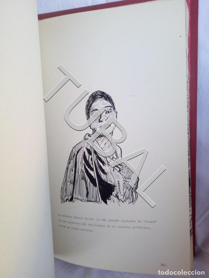 Catálogos de Música: TUBAL 1974 JAZZ MANUSCRITO BOB POR JORGE DE GISPERT 110 FOLIOS DIBUJOS MONTADOS ILUMINADOS A MANO G5 - Foto 13 - 150984542