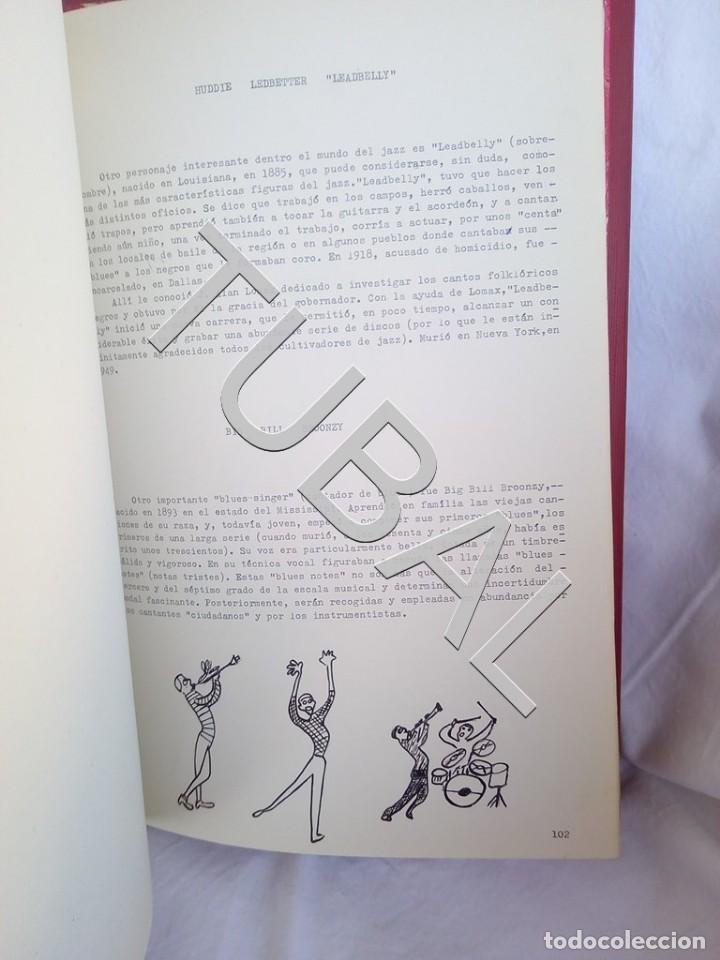 Catálogos de Música: TUBAL 1974 JAZZ MANUSCRITO BOB POR JORGE DE GISPERT 110 FOLIOS DIBUJOS MONTADOS ILUMINADOS A MANO G5 - Foto 14 - 150984542