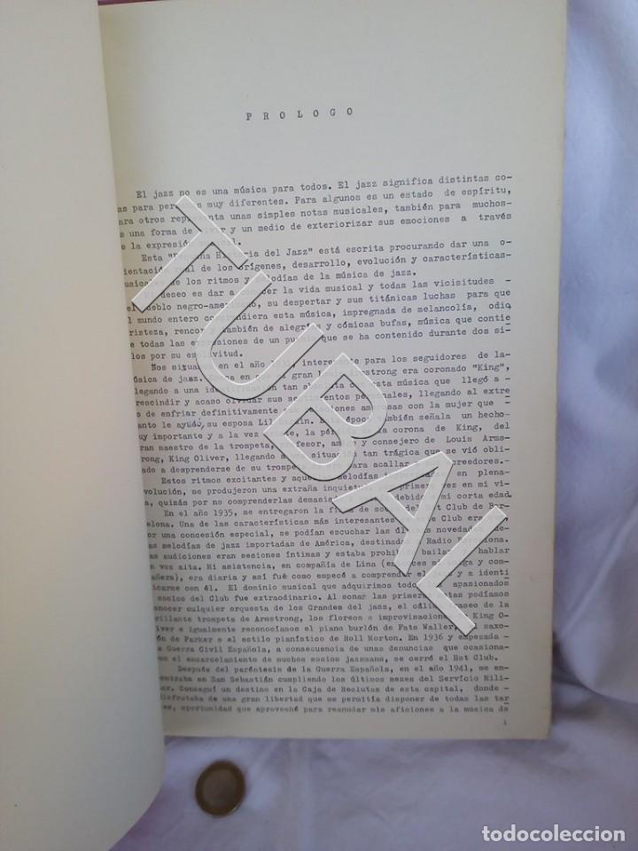 Catálogos de Música: TUBAL 1974 JAZZ MANUSCRITO BOB POR JORGE DE GISPERT 110 FOLIOS DIBUJOS MONTADOS ILUMINADOS A MANO G5 - Foto 28 - 150984542
